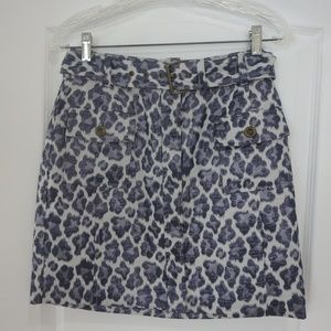 New Banana Republic Leopard Pencil Skirt